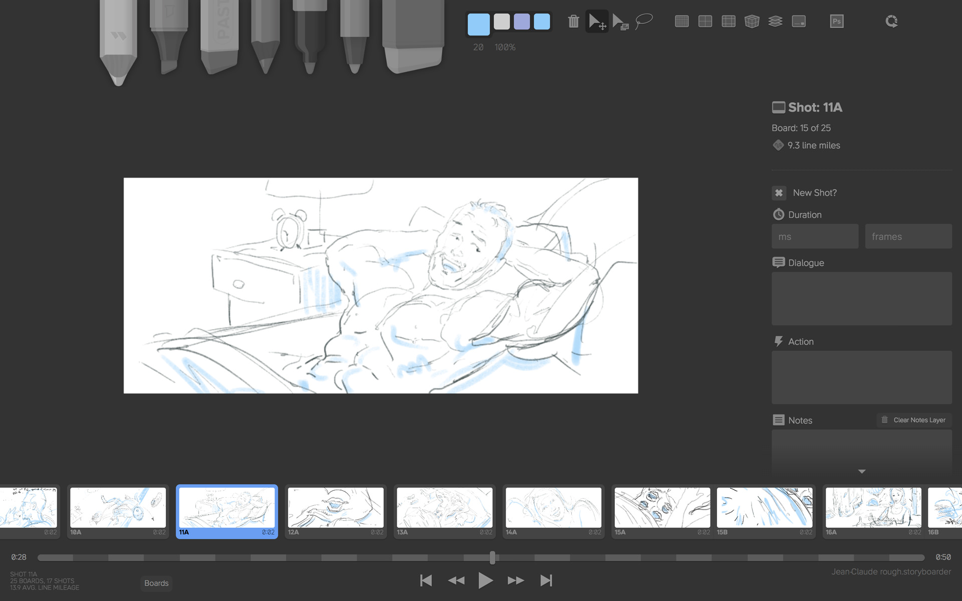 Storyboarder test